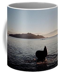 Rowing Off Sausalito, Ca Coffee Mug