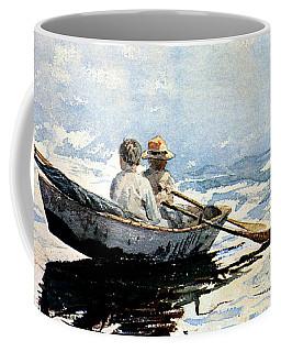 Rowing The Boat Coffee Mug