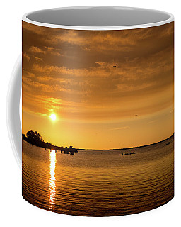 Coffee Mug featuring the photograph Rowingteam by Onyonet  Photo Studios