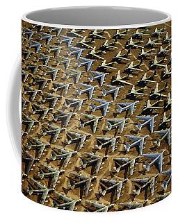 Rows Of B-52s Tucson Az Coffee Mug