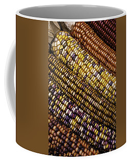 Rows Of Indian Corn Coffee Mug