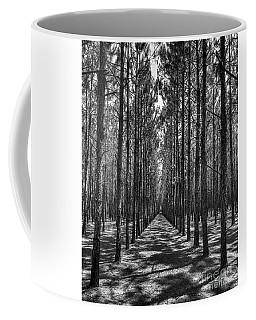 Rows Of Pines Vertical Coffee Mug