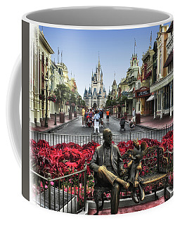 Roy And Minnie Mouse Walt Disney World Mp Coffee Mug by Thomas Woolworth
