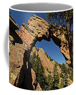 Royal Arch Trail Arch Boulder Colorado Coffee Mug