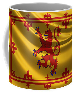 Royal Banner Of The Royal Arms Of Scotland Coffee Mug