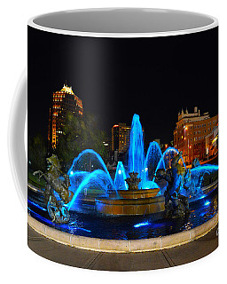 Royal Blue J. C. Nichols Fountain  Coffee Mug by Catherine Sherman