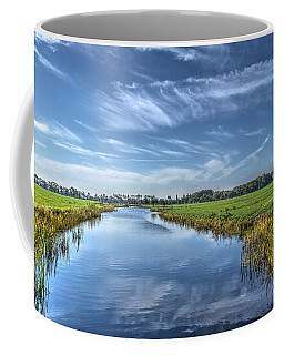 Royal Canal And Grasslands Coffee Mug