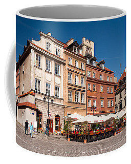 Royal Castle Square Architecture Coffee Mug