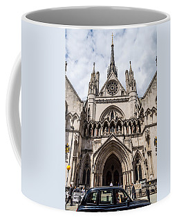 Royal Courts Of Justice In London Coffee Mug