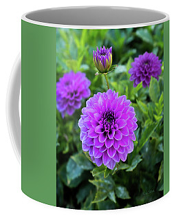 Royal Dahlia Delight Coffee Mug