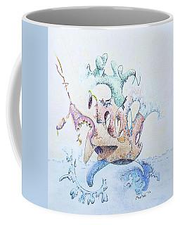 Royal Fireworks Barge Coffee Mug