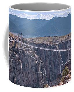 Royal Gorge Bridge Colorado Coffee Mug by James BO Insogna