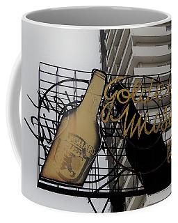 Royal Guard Cerveza And Golden Music Sign Coffee Mug