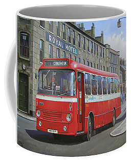 Coffee Mug featuring the painting Royal Hotel by Mike Jeffries