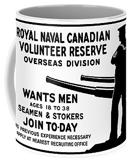 Royal Naval Canadian Volunteer Reserve Coffee Mug