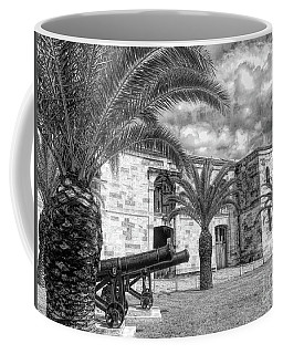 Coffee Mug featuring the photograph Royal Navy Dockyard Fort - Bermuda by Luther Fine Art