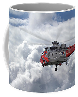 Coffee Mug featuring the photograph Royal Navy - Sea King by Pat Speirs
