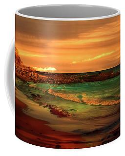 Royal Palms Beach At White Point Coffee Mug