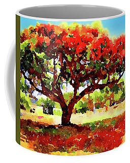 Royal Red Coffee Mug