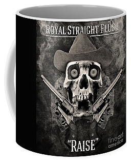 Coffee Mug featuring the digital art Royal Straight Flush by Phil Perkins