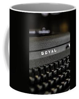 Royal Typewriter #19 Coffee Mug