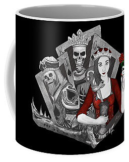 Coffee Mug featuring the digital art Royalty Love by Raphael Lopez