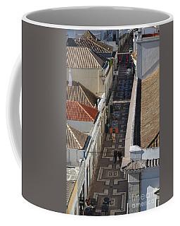 Rua Do Crime In Faro Coffee Mug by Angelo DeVal