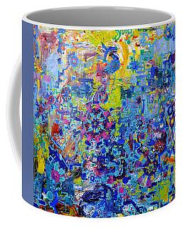 Rube Goldberg Abstract Coffee Mug