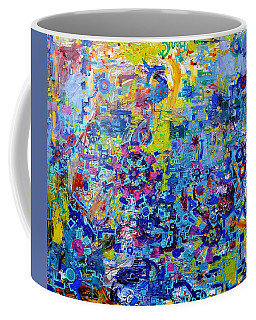 Rube Goldberg Abstract Coffee Mug