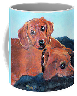 Ruby And Rainbow Coffee Mug