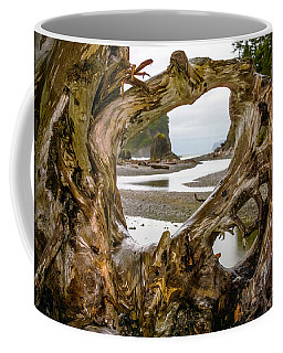 Ruby Beach Driftwood 2007 Coffee Mug
