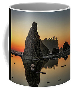 Ruby Beach At Sunset Coffee Mug