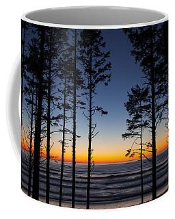 Ruby Beach Trees #4 Coffee Mug