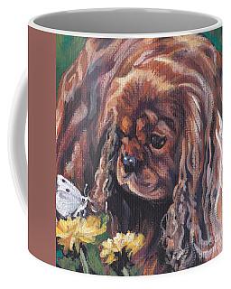 Ruby Cavalier King Charles Spaniel Coffee Mug
