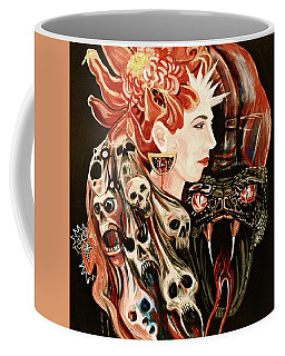 Ruby Eyes Coffee Mug