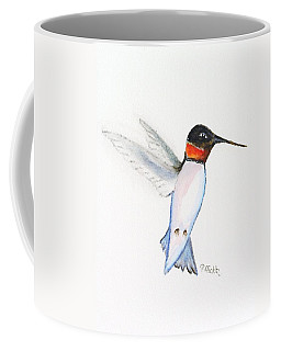 Ruby Hummer Coffee Mug