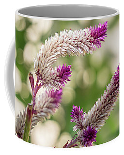 Ruby Parfait Celosia Coffee Mug by Jane Luxton