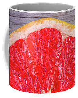 Ruby Red Grapefruit Coffee Mug by Teri Virbickis