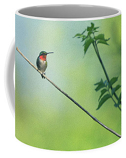 Ruby Red Perch Coffee Mug