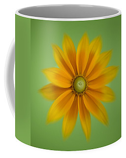 Rudbeckia Blossom Irish Eyes - Square Coffee Mug
