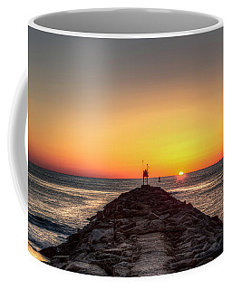 Rudee Inlet Jetty Coffee Mug