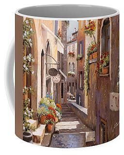 Rue Du Bresc In St Paul De Vence Coffee Mug