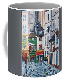 Rue Galande, Paris Coffee Mug
