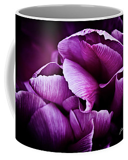 Ruffled Edge Tulips Coffee Mug by Joann Copeland-Paul