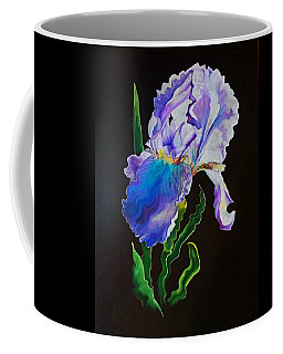 Ruffled Iris Coffee Mug