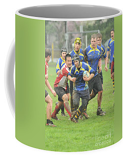 Rugby In The Mud Coffee Mug