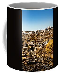 Rugged Mountain Town Coffee Mug