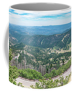 Ruidoso, Nm Panoramic Coffee Mug