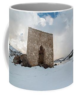 Ruin On The Snow Coffee Mug