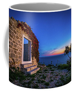 Ruins In Dubrovnik Coffee Mug